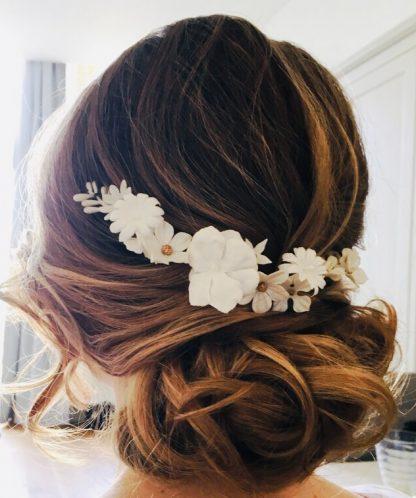 Lizeron Seville White Hairpiece