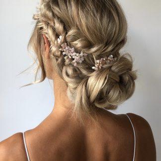 roze haaraccessoire Natalie