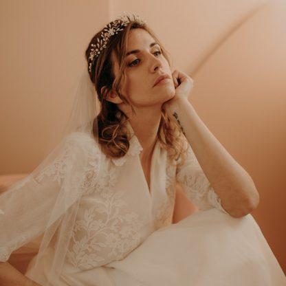 isabelle bruidstiara van Lizeron